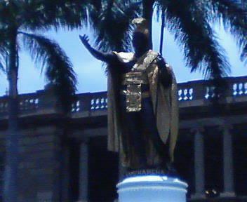 ハワイの王様に…